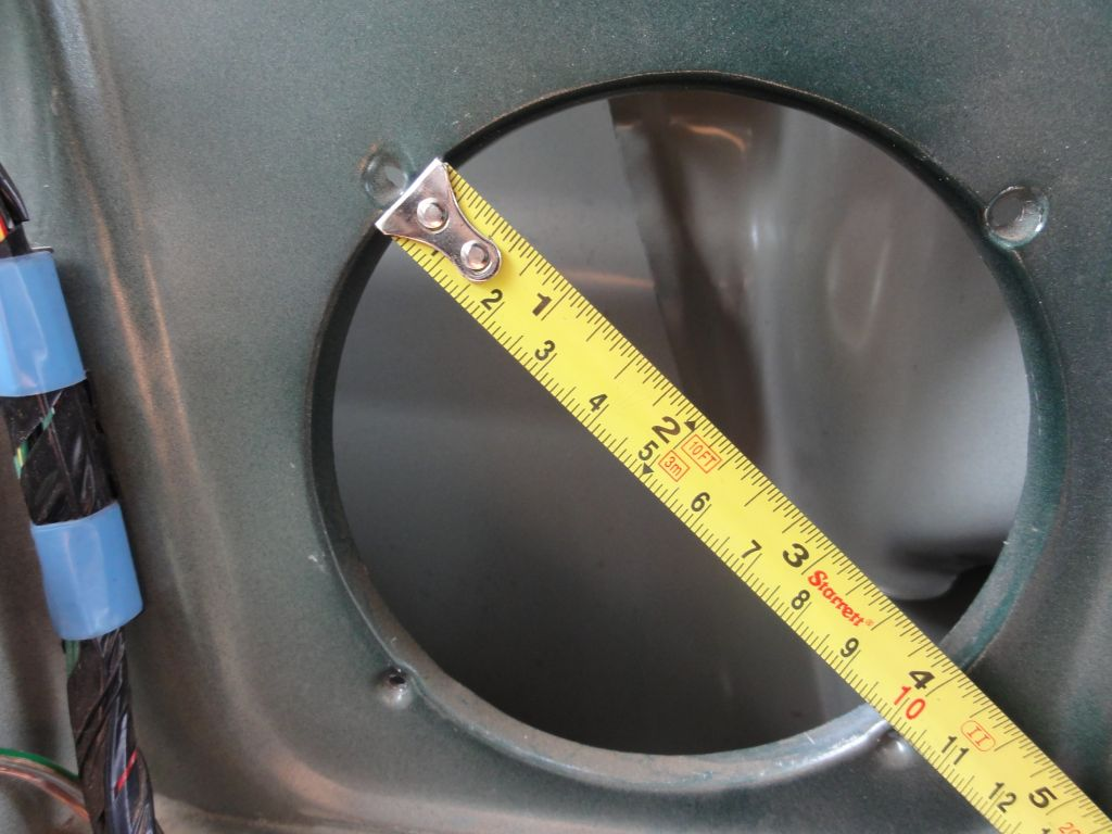 Diameter of the box hole: 100mm.