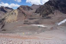 Plaza de Mulas from Canada Camp (5000m)
